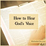 How I Recognize God's Voice