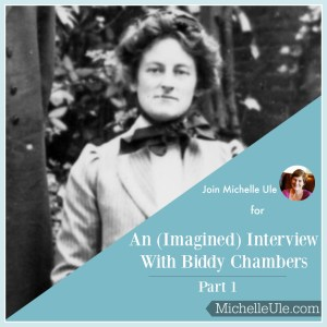 Interview, imagined Biddy Chambers interview, living your utmost for God's highest glory, Oswald Chambers, biographer, Mrs. Oswald Chambers
