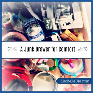 Junk drawer, comfort, Sonoma County fires, Clutter Free, Kathi Lipp, paperclips, recovering from a fire, hurricane disasters