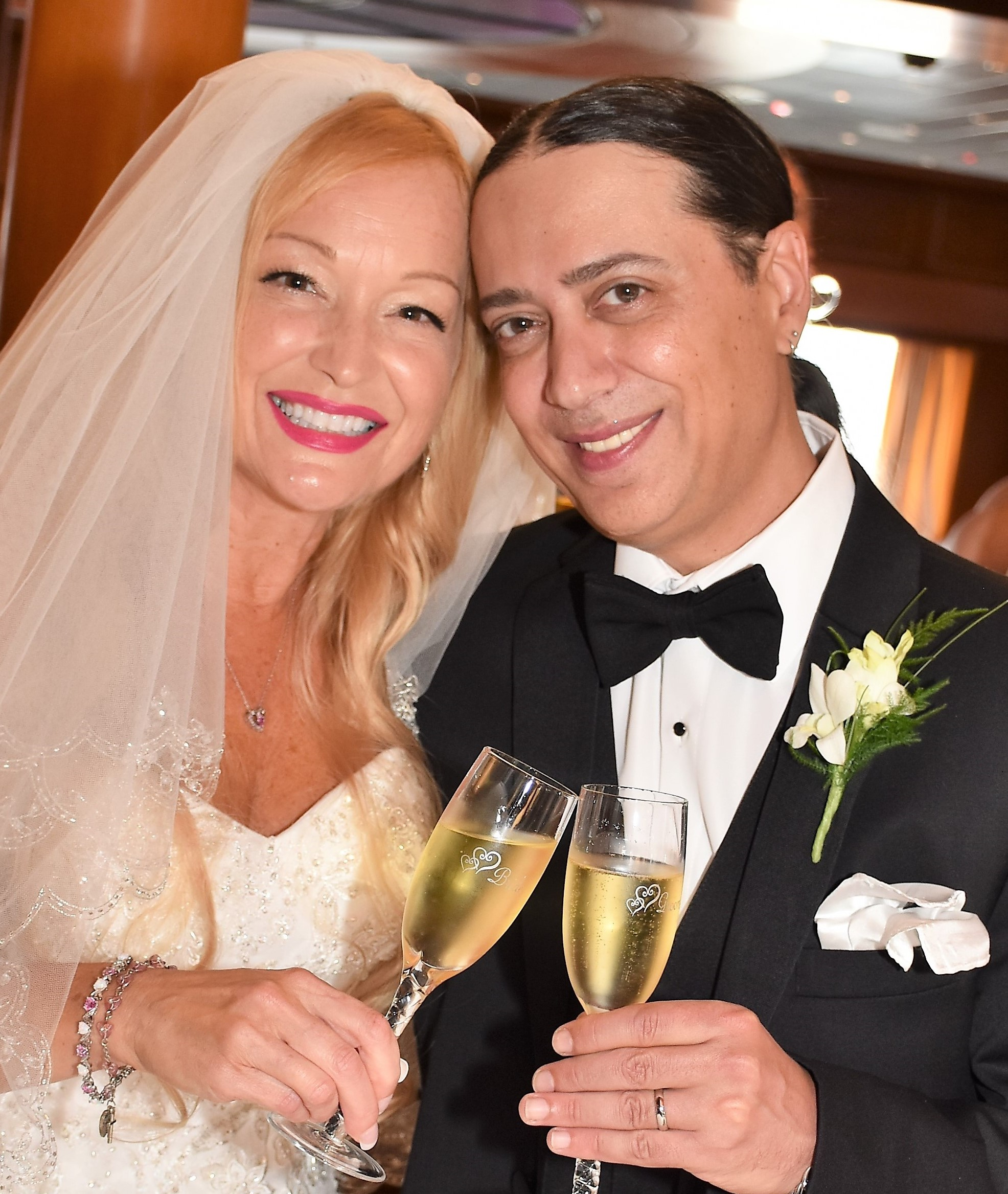 Married Michelle Valentine Got Married Aboard A Cruise Ship - Getting married on a cruise ship