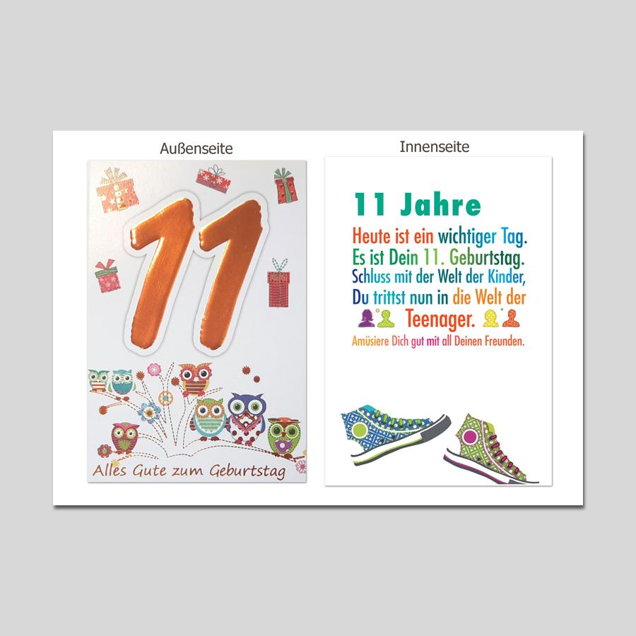 Age 11 Geburtstag Age Serien Michel Verlag Best Of Cards