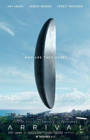 Arrival ( regia di Denis Villeneuve,2016 )
