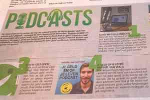 Aanbeveling Je Geld en of Je Leven in Metro krant