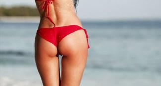 Rode bikini