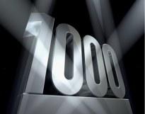 1000 lezers