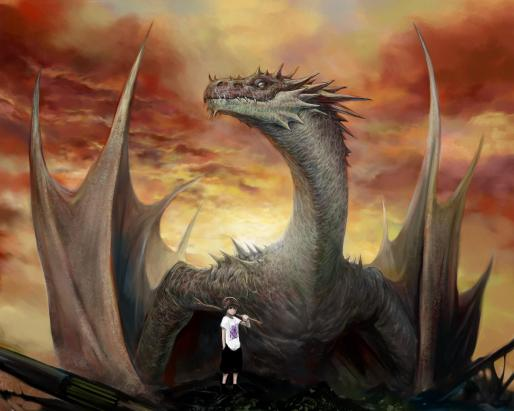 a_boy_and_dragon_wings_fantasy_fierce_hd-wallpaper-1882389