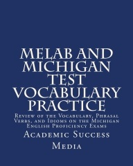 Michigan test vocab books