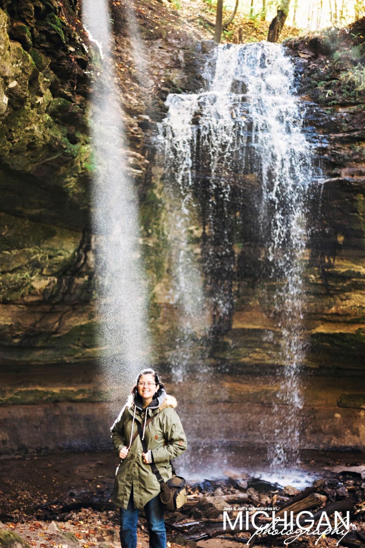 Jess at Tannery Falls