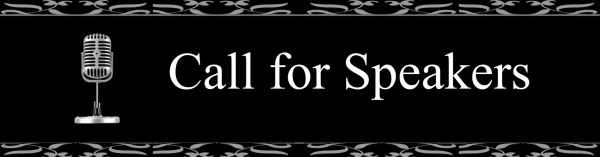 Call for Speakers 3