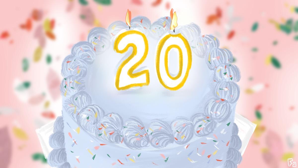 20 haikus turning 20 years old