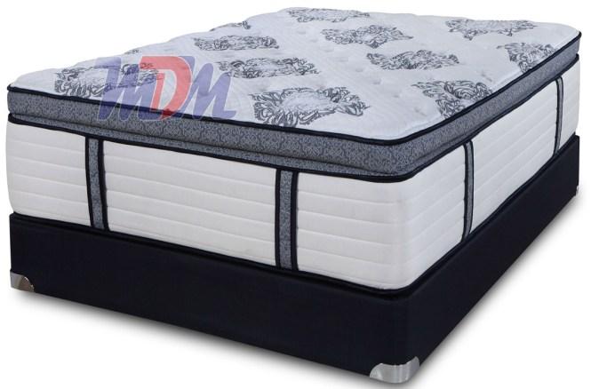 Latex Hybrid Pocket Spring Mattress Pillow Top
