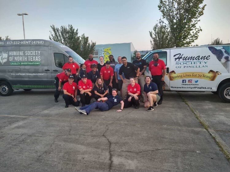 Michigan Humane's Animal Search and Rescue Team Assists With Hurricane Ida Recovery Efforts