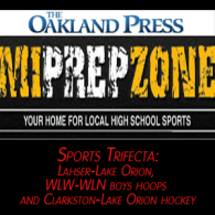 MI Prep Zone Game live video of the Week basketball Bloomfield Hills Lahser HS at Lake Orion HS