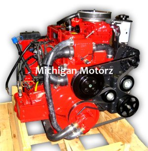 30GL Volvo Penta Replacement Engine  4 cyl, 135 hp