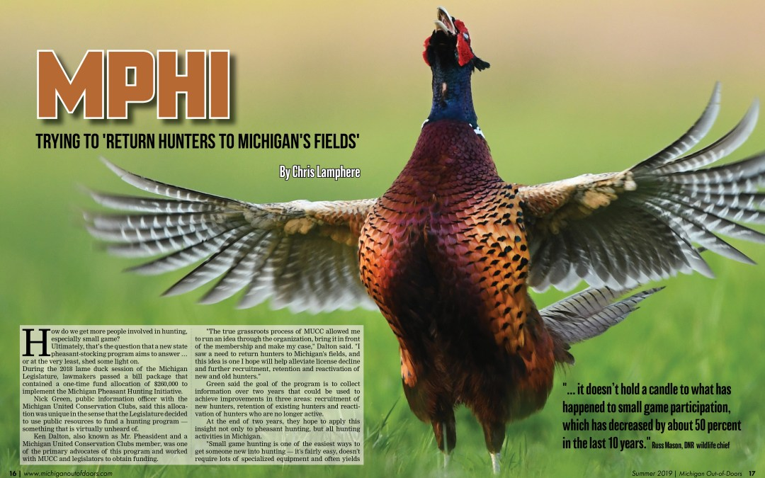 Michigan Pheasant Hunting Initiative: Trying to 'Return Hunters to Michigan's Fields'