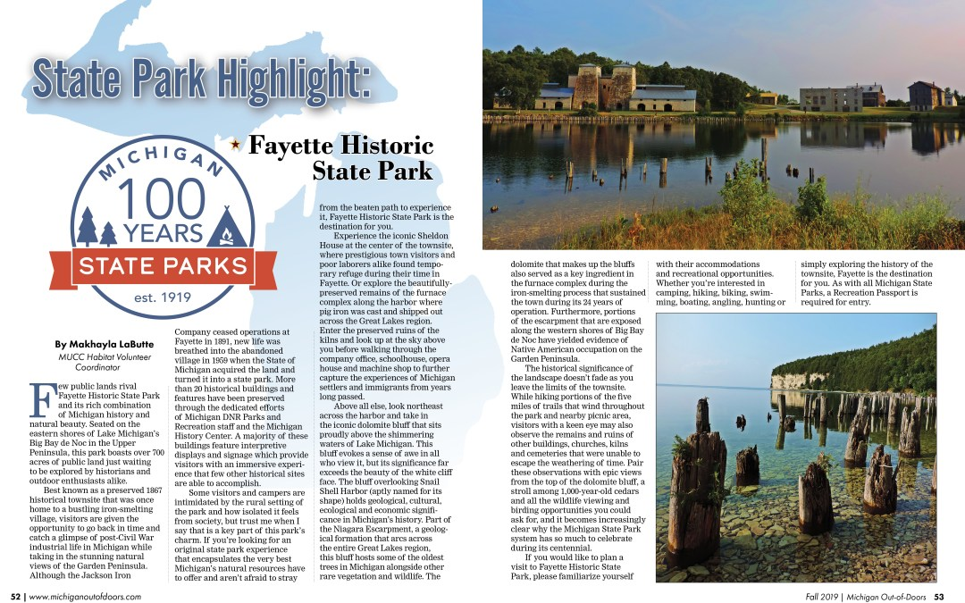 State Park Highlight: Fayette Historic State Park