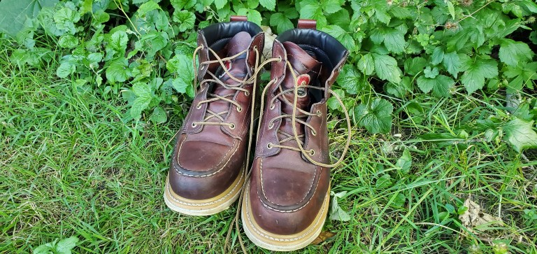 Red Wing Branded Irish Setter Boots