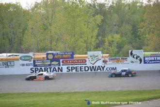 Spartan Stocks at Spartan Speedway. (Bob Bufffenbarger Photo)