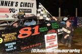 Rick Swartout won the Sportsman feature Saturday June 6, 2015 at Butler Speedway. (TW Photographics)