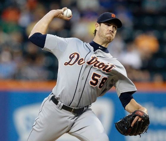 Doug Fister will start Game 4 for Detroit (Photo courtesy of the Detroit Tigers)