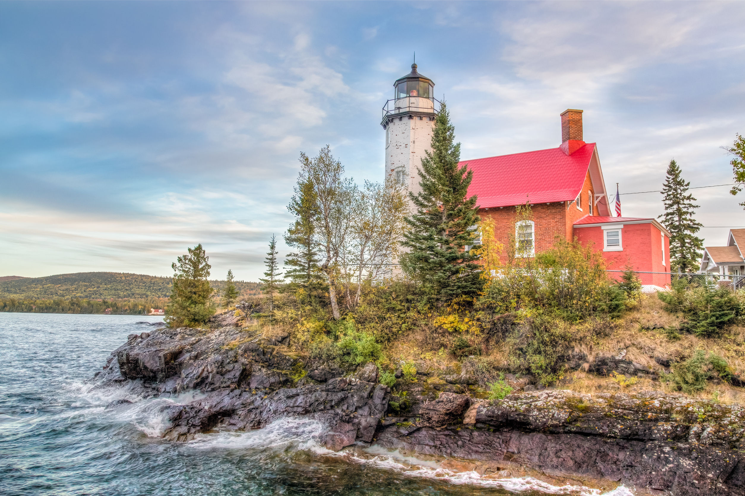 Fall Colors Michigan Lighthouses
