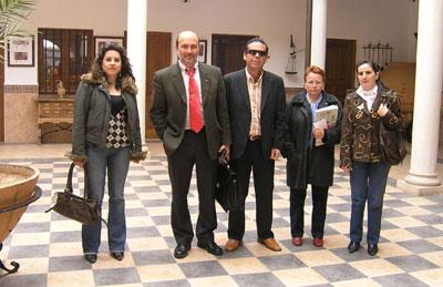 Mª Dolores Moreno, José Luis Cabezas, José Antonio Talavera, Eusebia Arias y Mª Pilar Sánchez