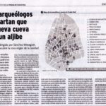 Plano e información sobre las Galerías subterráneas de la calle Alcántara de Ciudad Real