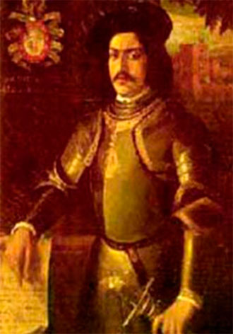 Cuadro de Hernán Pérez del Pulgar en la Diputación de Ciudad Real