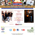 Vermont State Fair Website featuring the Doobie Brothers and Bachman and Turner