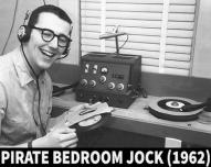 Pirate Bedroom Jock 1962