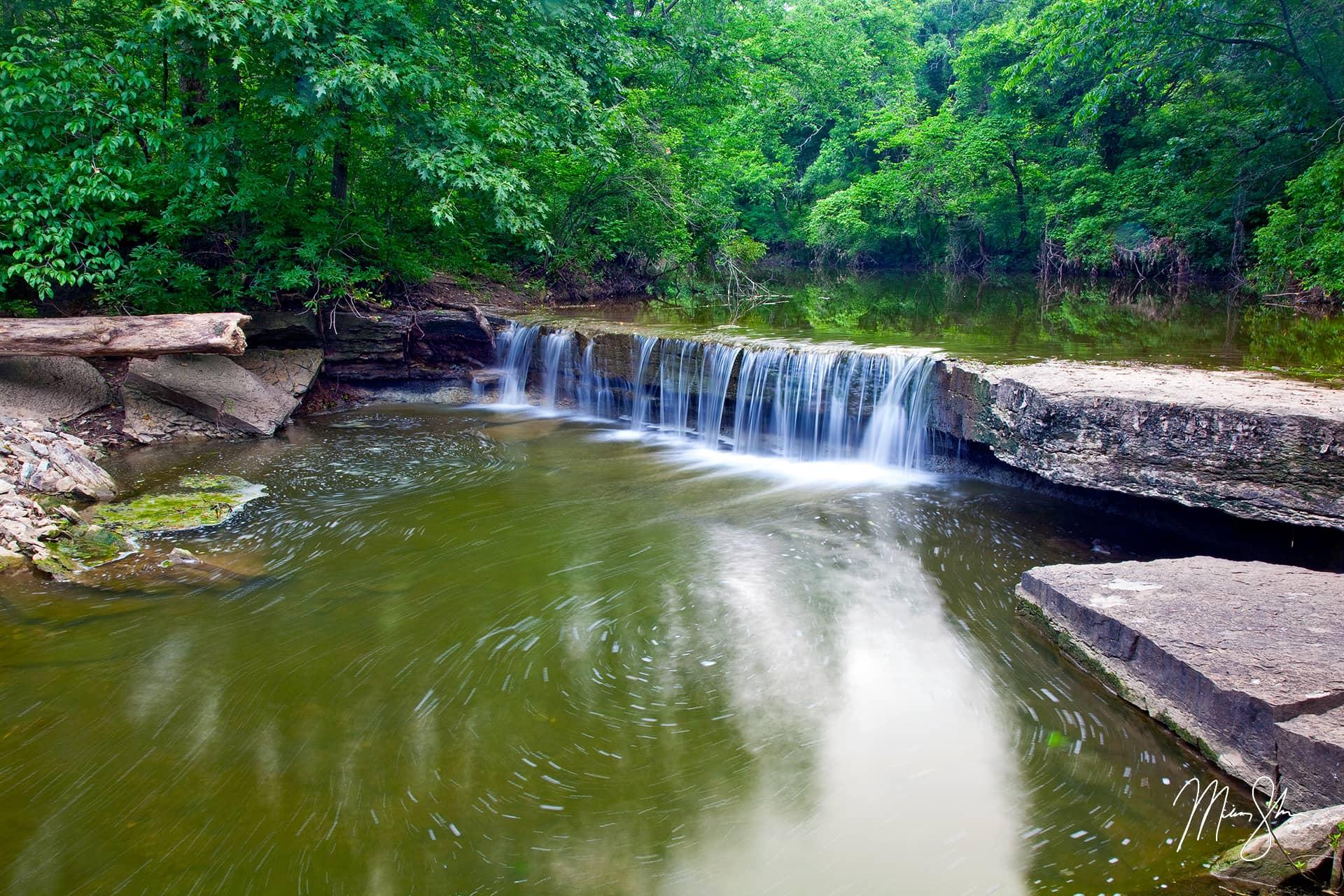 Kansas Waterfalls Mickey Shannon Photography