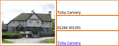 Busi Toby Carvery