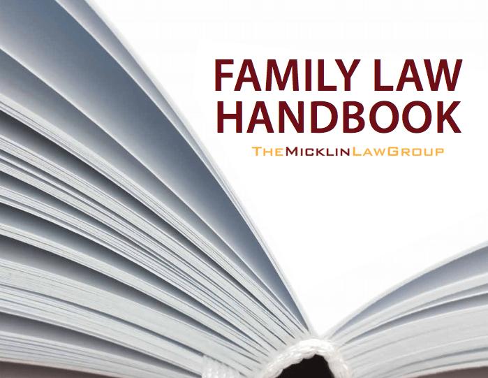Family Law Handbook