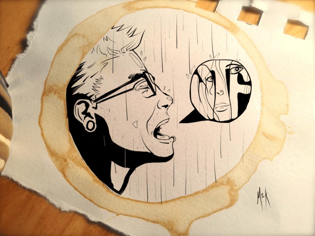 WTF Coffee Art