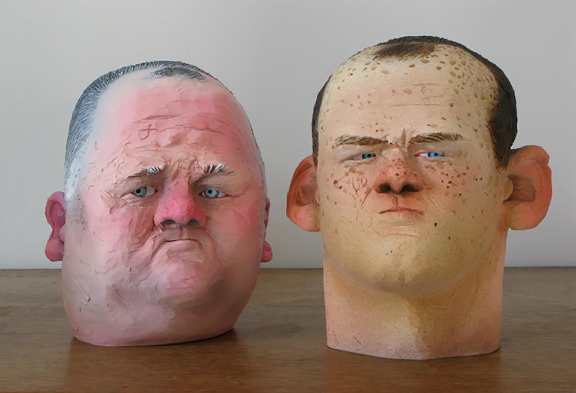 the roonies by sculptor wilfid wood