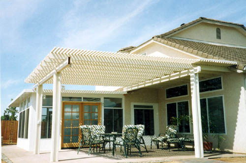Patio Design With Aluminum Patio Cover