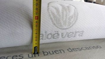 almohada viscoelastica 13 cm