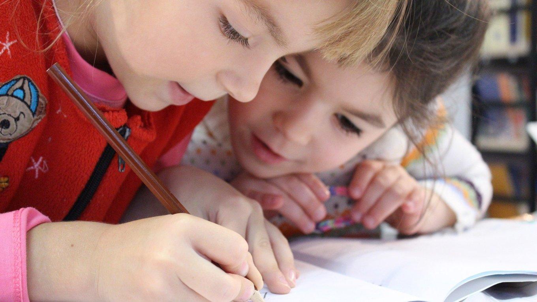 elegir colegio, valores, niños trabajando en equipo