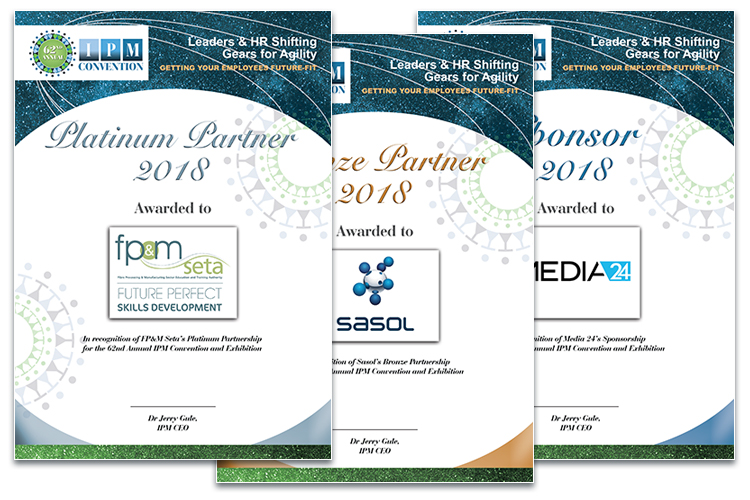Convention 2018 - certificates