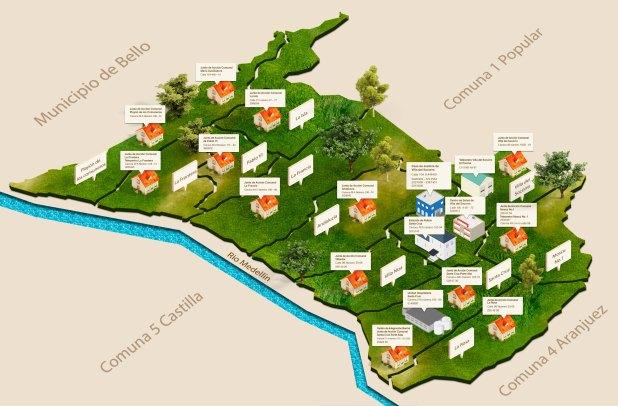 Infografía JAC y Centros de desarrollo para la comunidad.