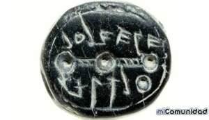 Encuentran sello de 2.600 años con nombre de mujer