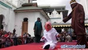 Mujer cristiana es flagelada por violar ley islámica Sharia