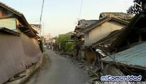 Segundo potente terremoto golpea sur de Japón