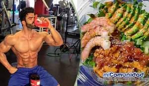 Alimentos que debes consumir después de entrenar para ganar músculo