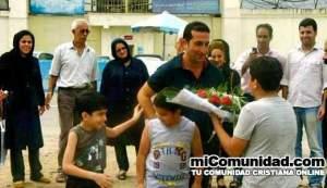 Yousef Nadarkani es puesto en libertad