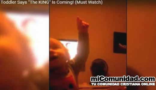 Video: Niña despierta a su madre para decirle: ¡El Rey ya viene!