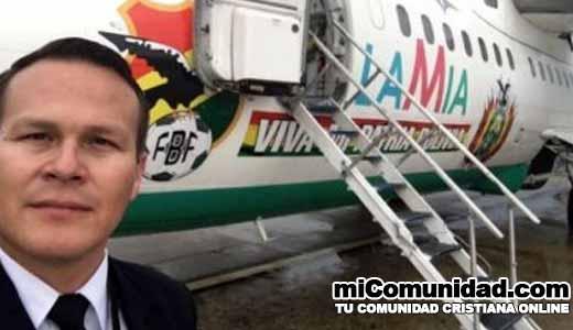 Piloto habló de encuentro con Cristo antes de accidente aéreo