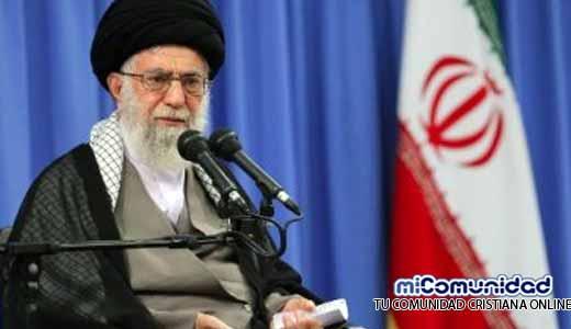 """Líder supremo de Irán llama a la guerra contra Israel para """"liberar Palestina"""""""