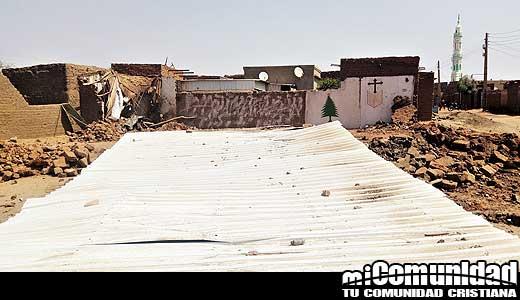 Autoridades de Sudán demuelen iglesia en Jartum 'La adoración creó disturbios públicos'
