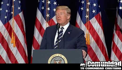 Trump en el Desayuno Nacional de Oración: Estados Unidos necesita fe en Dios para ser una gran nación
